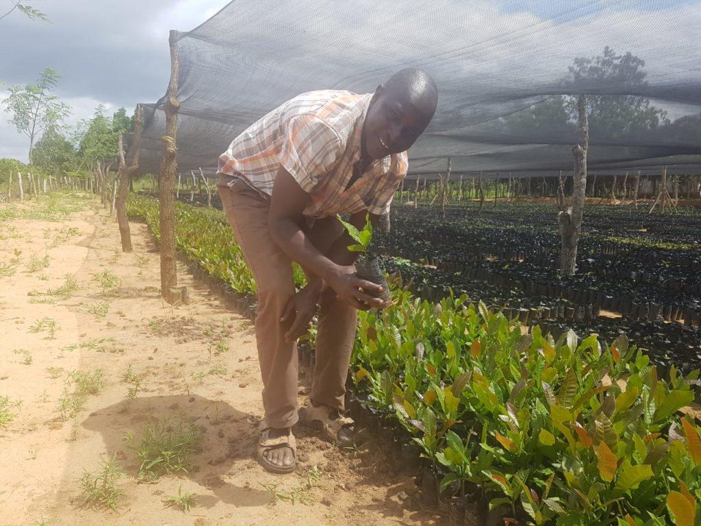 MAZAO - Joseph (resposabile del progetto) in visita